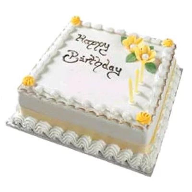 1 Kg eggless Square cake