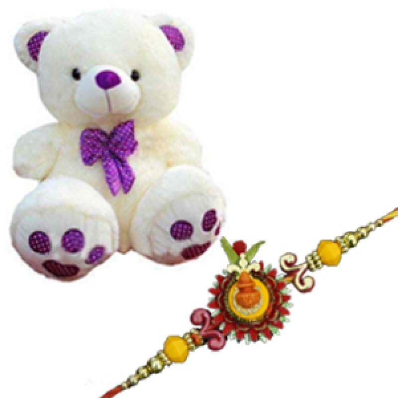 Rakhi with Teddy bear